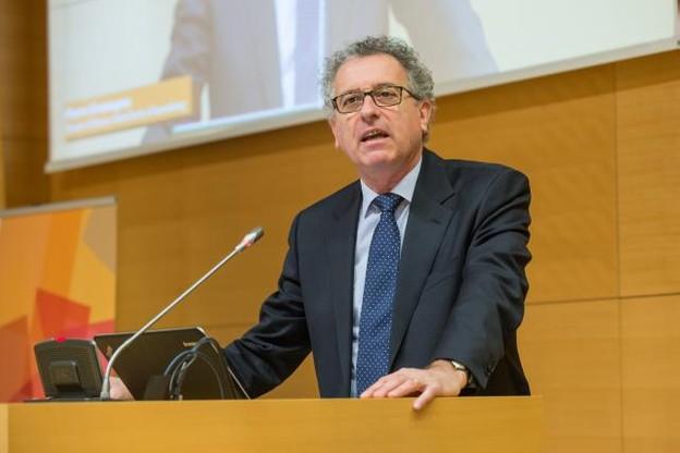 «Nous avons une responsabilité globale» en matière de transparence, a souligné Pierre Gramegna lors de son intervention. (Photo: Charles Caratini)