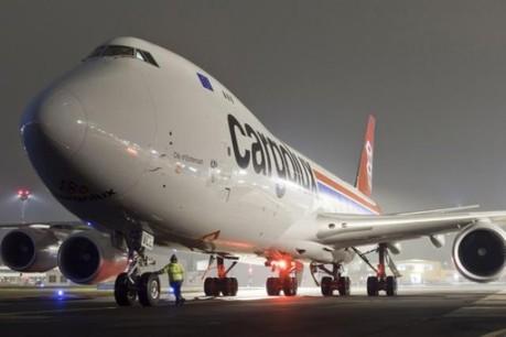 Ciel ombrageux en vue sur les avions de Cargolux…  (Photo: Cargolux / Viktor Laszlo)