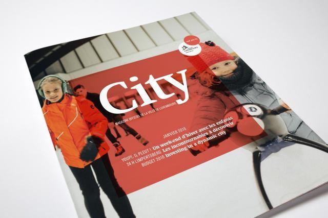 Le magazine de la Ville de Luxembourg a été repensé. Ne dites plus City Mag, mais simplement City. (Photos: Maison Moderne Studio)