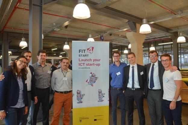 La première mouture de Fit4Start (hors pilote) laisse déjà la place à cinq nouvelles start-up qui débuteront 16 semaines de coaching au début du mois d'octobre.  (Photo: Luxinnovation)
