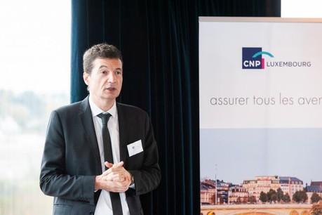 Jean-Mary Castillon, directeur général de CNP Luxembourg. (Photo: Lala La Photo)