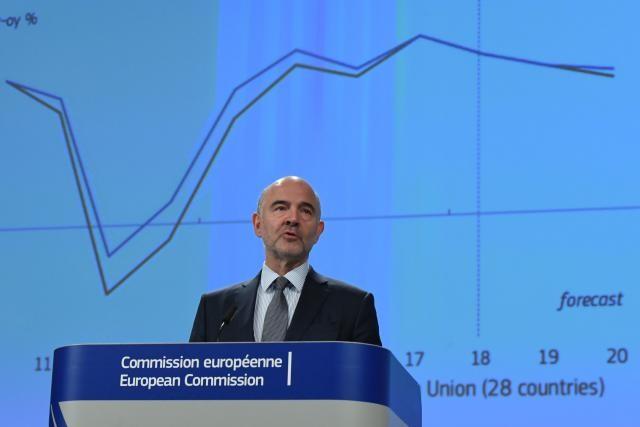 «Les responsables politiques, tant à Bruxelles que dans les capitales nationales, doivent veiller à ce que la zone euro soit assez forte pour affronter l'avenir», estime Pierre Moscovici. (Photo: Commission Européenne)