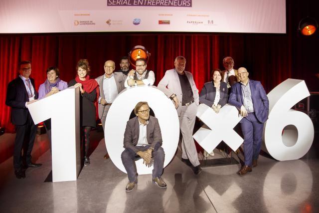 Dix personnes sont venues témoigner de leur esprit d'entreprendre lors du premier 10x6 de l'année 2017. (Photo: Maison Moderne)