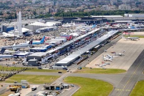 La visite du 50e Salon international de l'aéronautique et de l'espace au Bourget sera un des moments forts de cette mission. (Photo : Verrier_Sunlight Image)