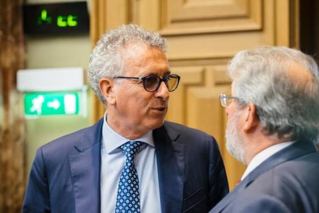 Pierre Gramegna s'est fait épauler par des experts externes pour préparer la stratégie à adopter dans les négociations sur le Brexit. (Photo: Sébastien Goossens)