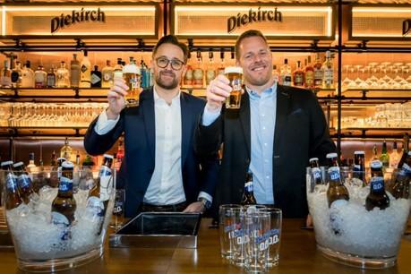 Arnold Blondeel et Marc Böttner: «Le lien entre bière et alcool n'est plus aussi systématique.» (Photo: Nader Ghavami)