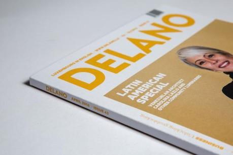 L'édition d'avril de Delano est à présent disponible. (Photo: Maison Moderne Studio)