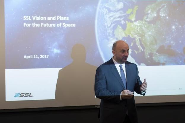 Le ministre de l'Économie continue de vanter l'écosystème créé de toutes pièces par le Luxembourg autour de l'exploitation de ressources de l'espace. (Photo: SIP / Jean-Christophe Verhaegen)