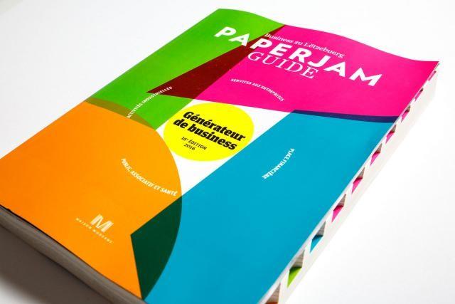 Le Paperjam Guide édition 2016, c'est près de 800 biographies de dirigeants et plus de 3.100 fiches de sociétés et d'institutions au Luxembourg. (Photos: Maison Moderne Studio)