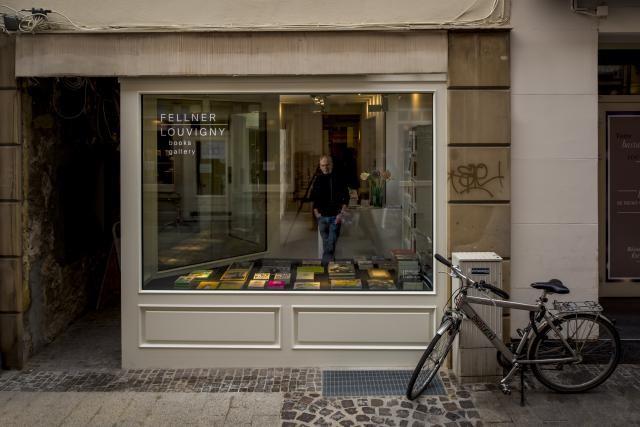 Hans Fellner se lance de nouveau dans l'aventure d'une librairie en centre-ville. (Photo : Nader Ghavami)