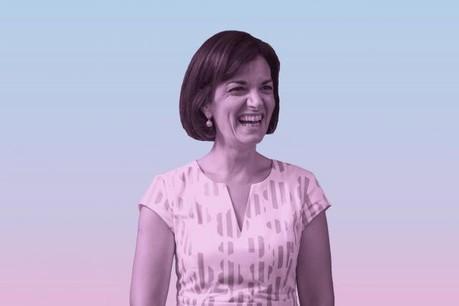 Julie Becker: «Je suis la première femme à la tête de la Bourse, mais en insistant tellement sur le genre, on a tendance à mettre de côté les compétences et l'expérience.» (Photo: Nader Ghavami)