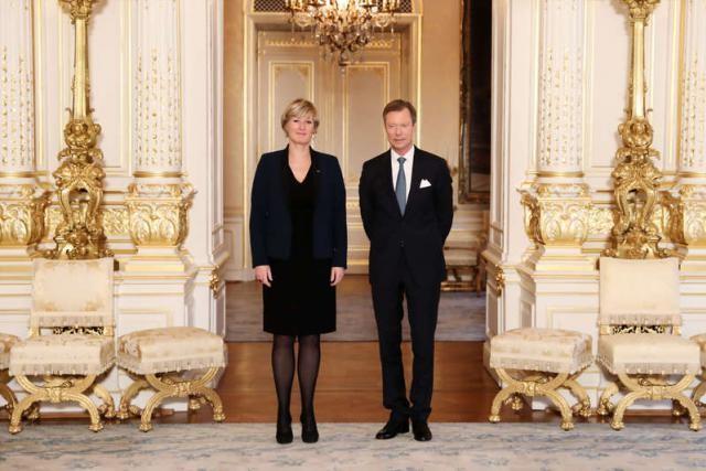 Francine Closener n'a pas été réélue le 14 octobre dernier. (Photo: Cour grand-ducale / Sophie Margue)