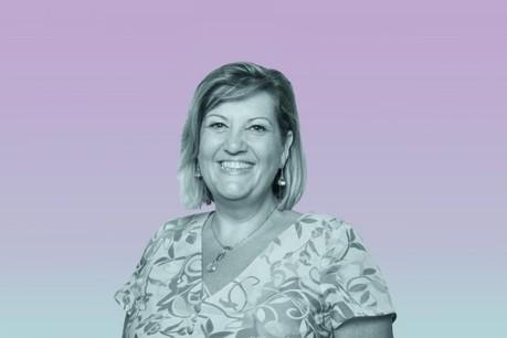 Marie Louise Ashworth: «J'ai moi-même un mentor, elle me permet de me poser les bonnes questions, sans avoir la même carrière.» (Photo: Patricia Pitsch)