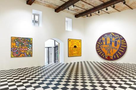 La galerie Zidoun-Bossuyt présente une exposition de Keith Haring. (Photo: Rémi Villaggi)