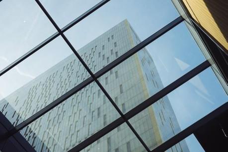 Les visiteurs pourront monter au 24e étage de la tour A donnant accès à un panorama exceptionnel depuis le point le plus haut du Kirchberg. (Photo: Sébastien Goossens / archives)