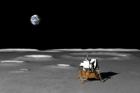 En vertu du traité de l'espace de 1967 signé par la majorité des États, l'espace extra-atmosphérique, comprenant la Lune et les autres corps célestes, n'appartient à aucun État. (Photo: Ericus)