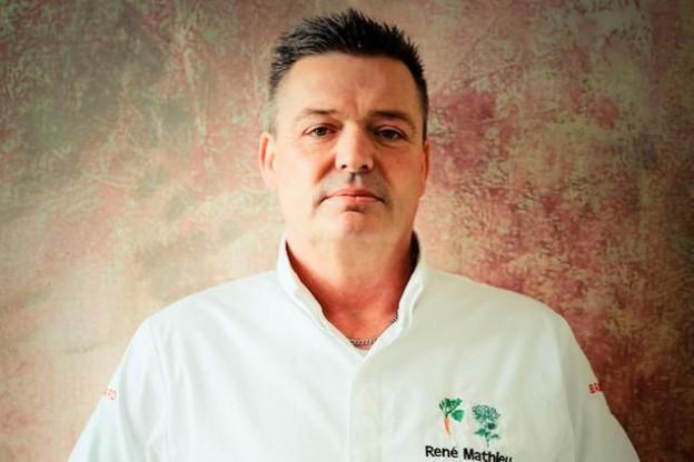 René Mathieu, le chef du restaurant La Distillerie, est un véritable amoureux des légumes et du végétal. (Photo: Horeca Media)