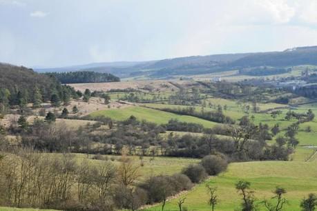 La vallée de la Mamerdall s'étend au total sur neuf communes. (Photo: DR)