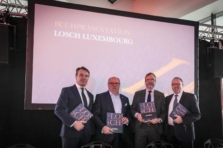Le livre célèbre les 70 ans d'histoire de l'entreprise. (Photo: Losch Luxembourg)