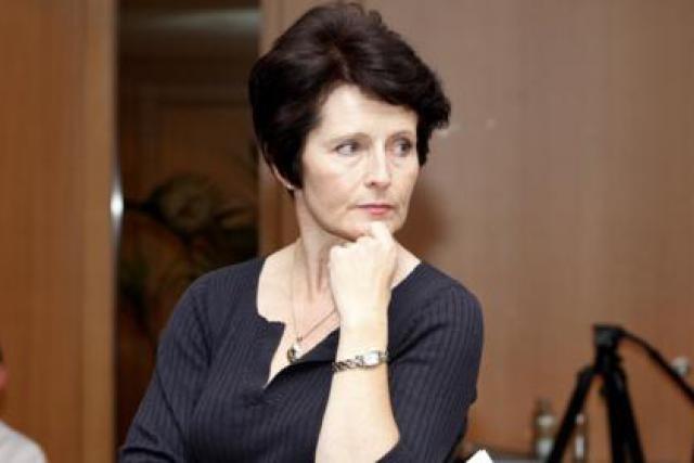 Yvonne O'Reilly, co-présidente du jury. (Photo: Olivier Minaire)