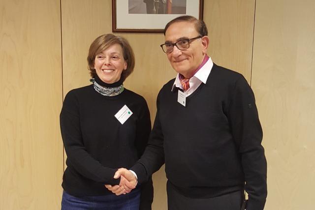 Claire Geier-Courquin (vice-présidente) et Franco Avena (président) forment le nouveau binôme à la tête du Conseil national pour étrangers. (Photo: DR)