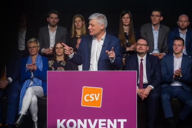 Claude Wiseler et le CSV se sont fixé le retour au pouvoir comme objectif au soir des élections du 14 octobre. (Photo: Matic Zorman)