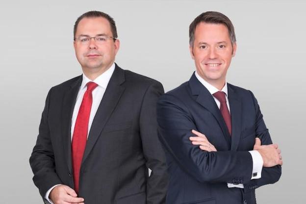 Frank Mausen est associé depuis 2011, Patrick Mischo depuis 2009. (Photo: Allen & Overy)