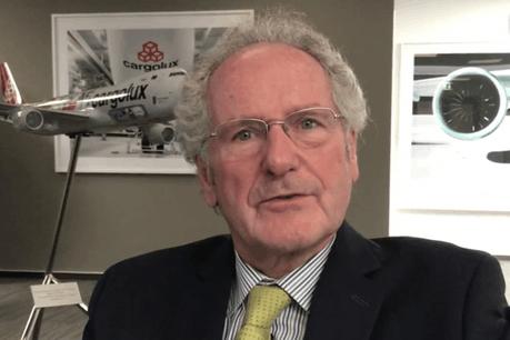 Paul Helminger, le président du conseil d'administration de Cargolux, rappelle qu'en 2017 la demande de fret aérien a été plus élevée que l'offre de transport. (Photo: paperJam.lu)