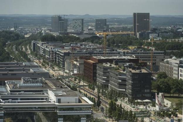 Sur le plateau du Kirchberg, les futurs exilés de la City seront les bienvenus.  (Photo: Anthony Dehez / archives)