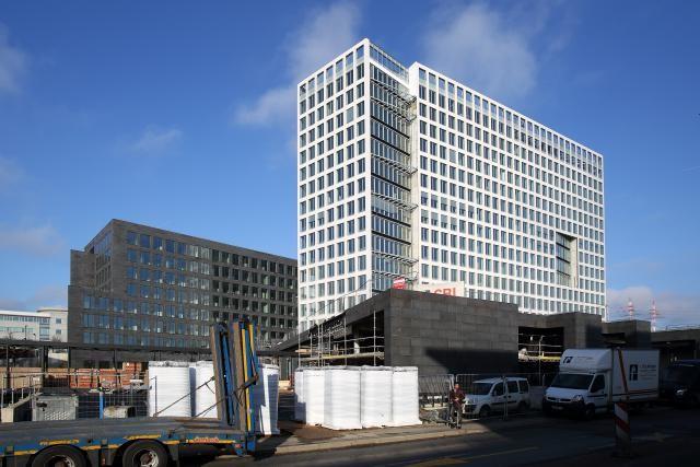 La BGL occupe désormais deux nouveaux bâtiments, sur une surface de 28.300 m². (Photo: Olivier Minaire/archives)