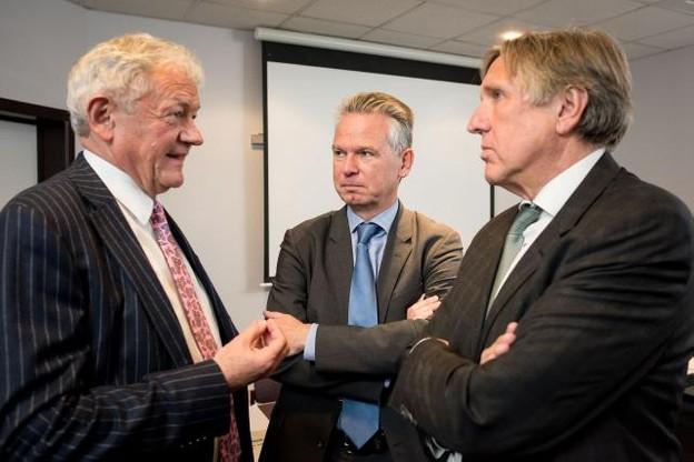 Les ministres Bellot et Bausch se sont vus en novembre 2017 à Arlon. (Photo: Nader Ghavami / archives)