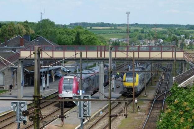 La gare d'Athus, fin de ligne belge estampillée CFL. Le tarif luxembourgeois y est apprécié. (Photo: Licence CC)