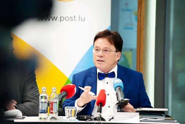 Le groupe Post, dont le conseil d'administration est présidé par Serge Allegrezza, a dévoilé ses résultats le 18 mai dernier et versera 20 millions d'euros à l'État. (Photo: Lala La Photo)