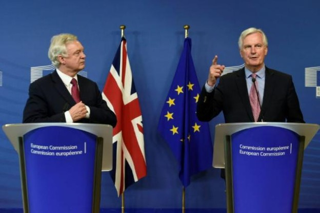 La première journée officielle de négociations sur le Brexit s'est ouverte par un entretien entre David Davis et Michel Barnier. (Photo: DR)