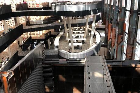 Le Learning Centre, à l'architecture exceptionnelle, s'articule autour de différents espaces de travail. (Photo: DR)