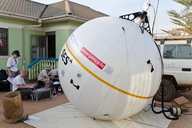 SES met à nouveau sa technologie à disposition d'Emergency.lu à la suite de la catastrophe humanitaire survenue sur l'île d'Haïti.  (Photo: SES)