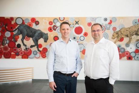 Patrick Mischo, senior partner et Frank Mausen, managing partner. (Photo: Anthony Dehez)