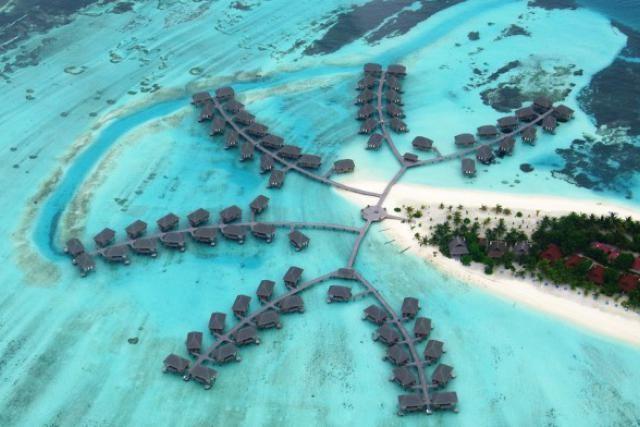 Derrière le côté paradisiaque (ici le Club de Kanifinholu aux Maldives), Club Med est redevenu un redoutable money maker. (Photo: Club Med)