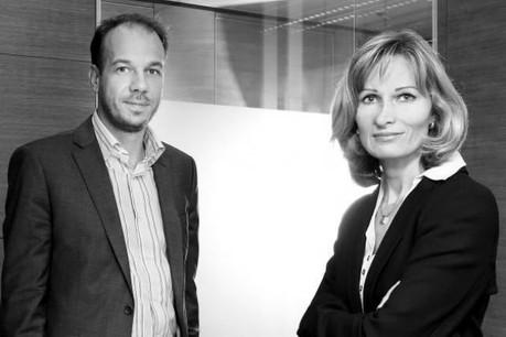 Nicolas Hurlin et Marilyn Colas Hurlin, cofondateurs de The Recruiter Box. Photo: The Recruiter Box