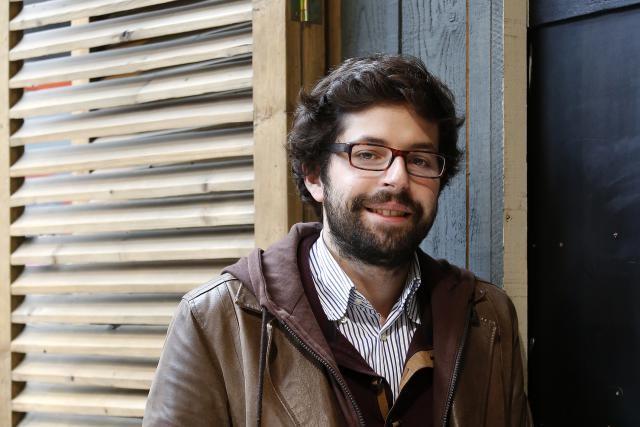 Julien Revelle, l'un des deux associés et fondateurs. (Photo: Olivier Minaire)