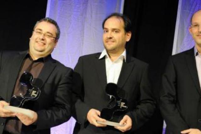 Mike Sergonne, Raoul Mulheims et Georges Berscheid (Mpulse) (Photo: David Laurent/Wide)