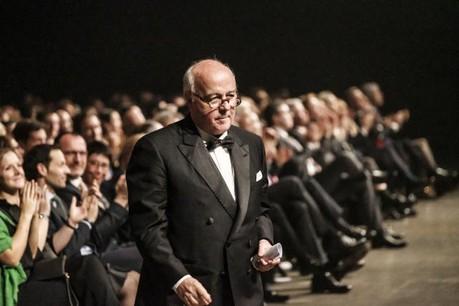Norbert Becker lors de la cérémonie du Paperjam Top 1002018 des décideurs économiques les plus influents du Luxembourg, le 19 décembre dernier, à la Rockhal. (Photo: Maison moderne / archives)