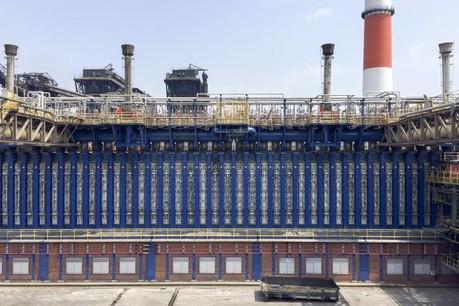Le groupe luxembourgeois a installé une batterie de fours à coke chez JFE Steel Kurashiki, au Japon. (Photo: Paul Wurth)
