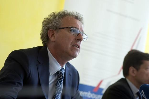 Le ministre des Finances, Pierre Gramegna, s'est félicité de la rapidité avec laquelle Beps a pu voir le jour. (Photo: Christophe Olinger / archives)