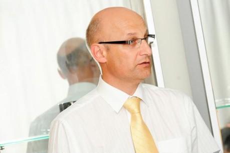Thierry Seignert (IBM Services Financial Sector) a été élu pour un mandat d'une année.  (Photo: David Laurent / Wili / archives)