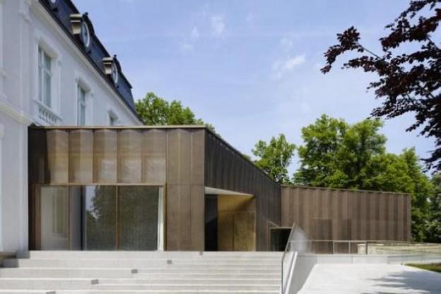 L'un des deux prix: La Villa Vauban, Musée d'Art de la Ville de Luxembourg par Diane Heirend & Philippe Schmit Architectes. (Photo: Lukas Roth)