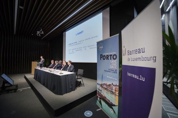 Pour son septième événement au Luxembourg depuis 2014, le comité luxembourgeois de l'UIA avait choisi un thème qui intéressait bien au-delà du monde juridique: la réponse du droit aux défis posés par l'économie collaborative.  (Photo: Robert Bobérian)