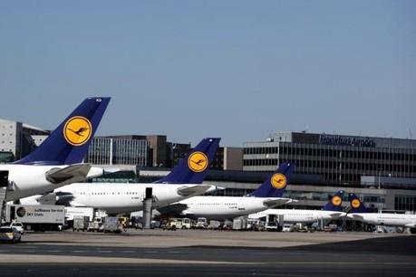 Tous les vols entre Francfort et le Findel ont été annulés ce mardi. Deux sur quatre depuis ou vers Munich sont maintenus, selon les informations de Lufthansa. (Photo: Frankfurt Airport)