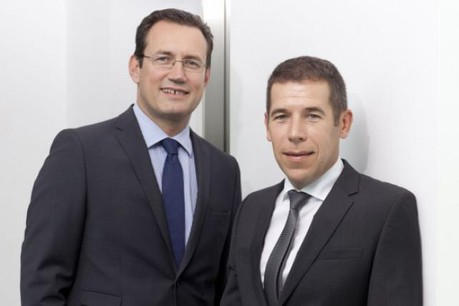 Pierre Focant (Systemat) et Pierre Van Wambeke (SeeZam). (Photo: archives paperJam)