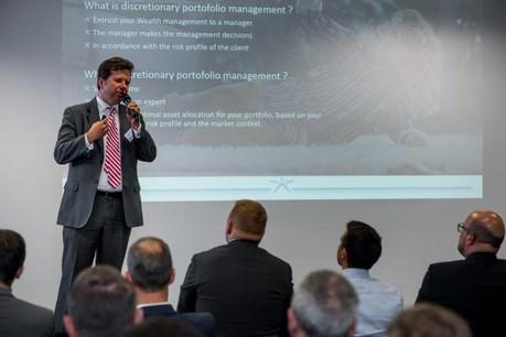 Thibault de Barsy a été le CEO de Keytrade Bank Luxembourg pendant cinq ans. (Photo: Nader Ghavami / archives)